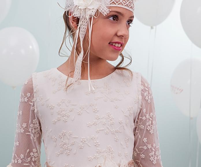 Tocados para comuniones: Tienda online de Bamby Modas