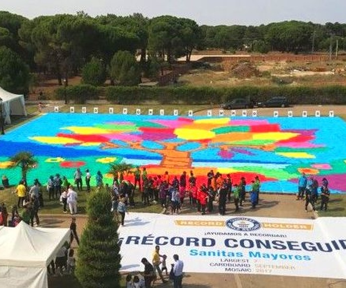 5.000 mayores baten el GUINNESS WORLD RECORDS™