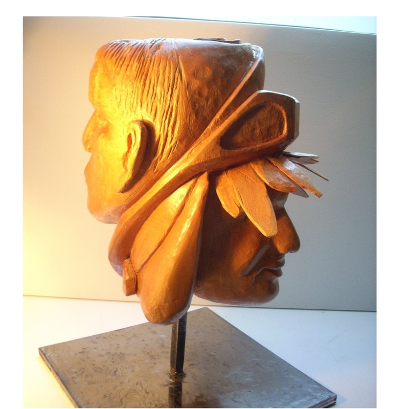 El literato y el caricato: Esculturas de Antonia Dávalos