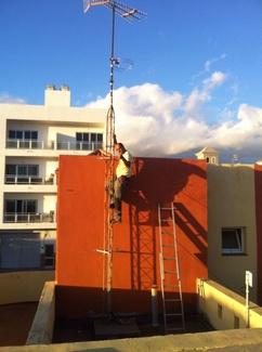 Instalación de antenas Tenerife