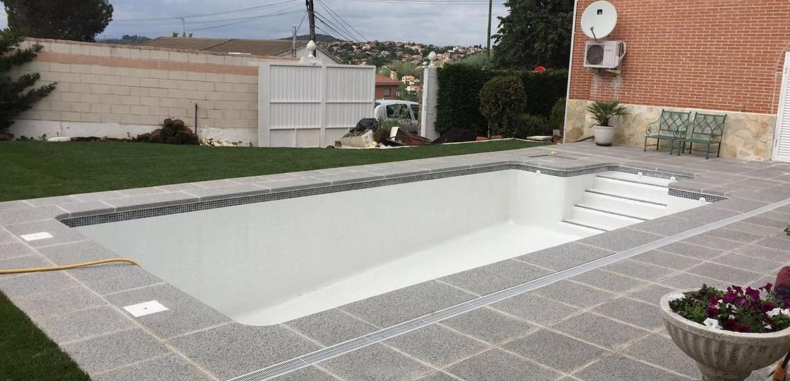 Construcción de piscinas de obra en Parla
