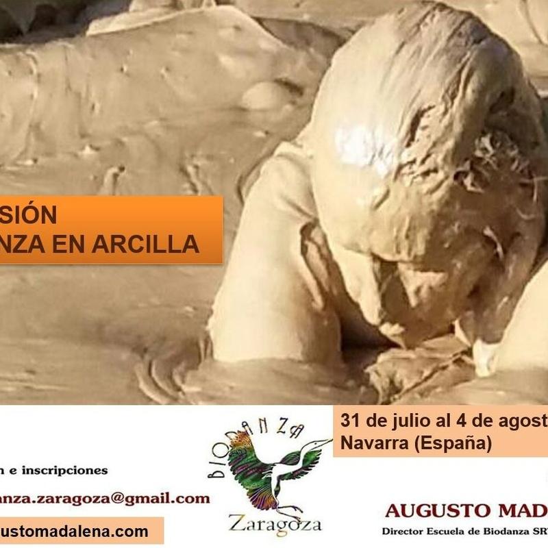 Extensión Biodanza en Arcilla 2019. Augusto Madalena.