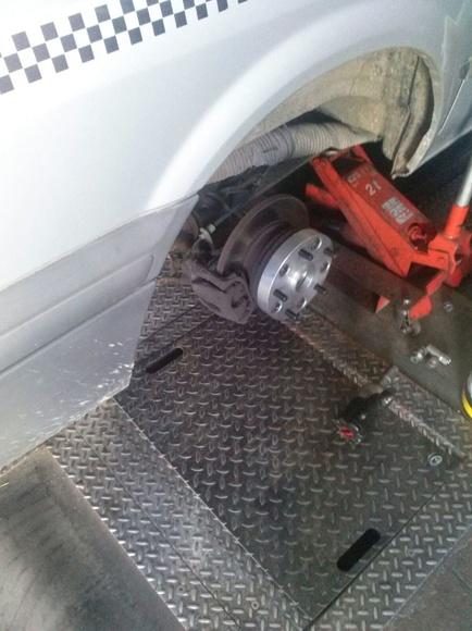 Separador rueda