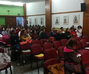 Encuentro de personas q trabajan para la Asociacion Domitila Hernandez