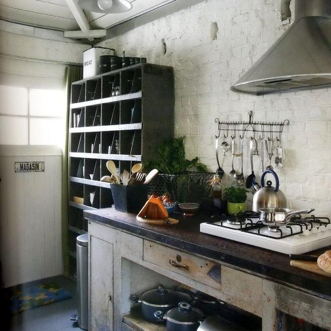 Ideas para crear una cocina rústica funcional