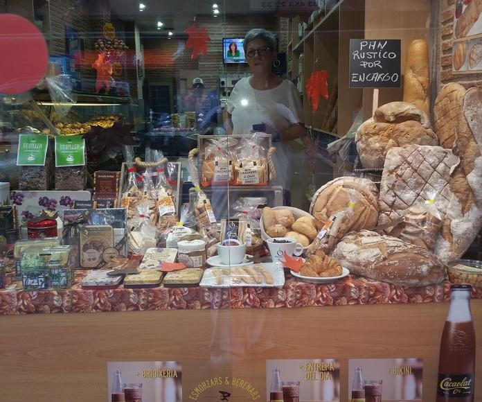 Raciones al plato : Nuestra carta  de Pans&Coffe