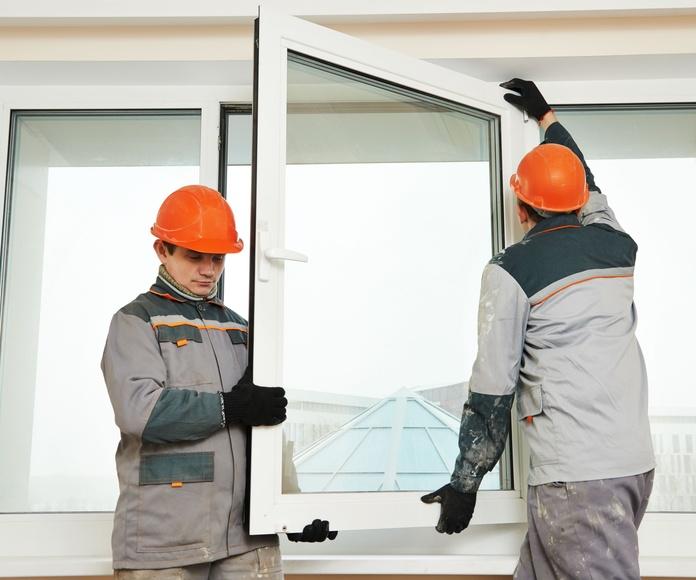 Instalación de ventanas de PVC y aluminio: Servicios y Productos de Talleres Baguena, S.L.