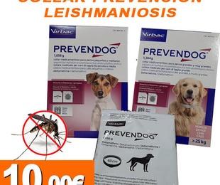 Collar prevención leishmaniosis