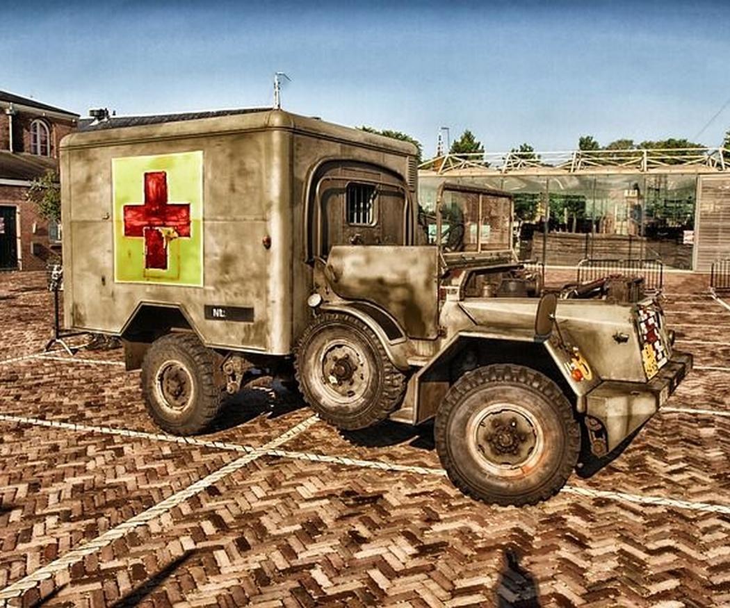 Los orígenes de las ambulancias