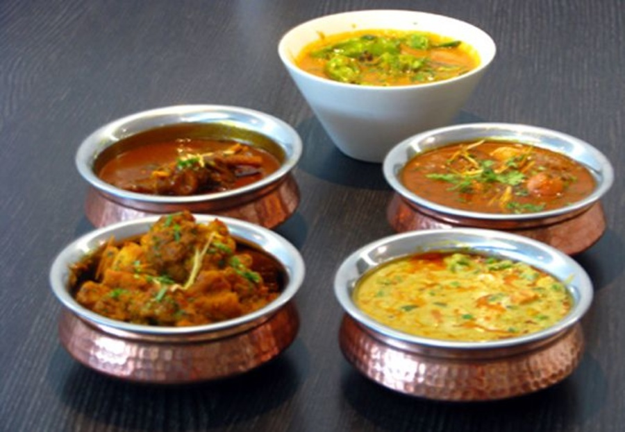 Los currys más típicos de la India