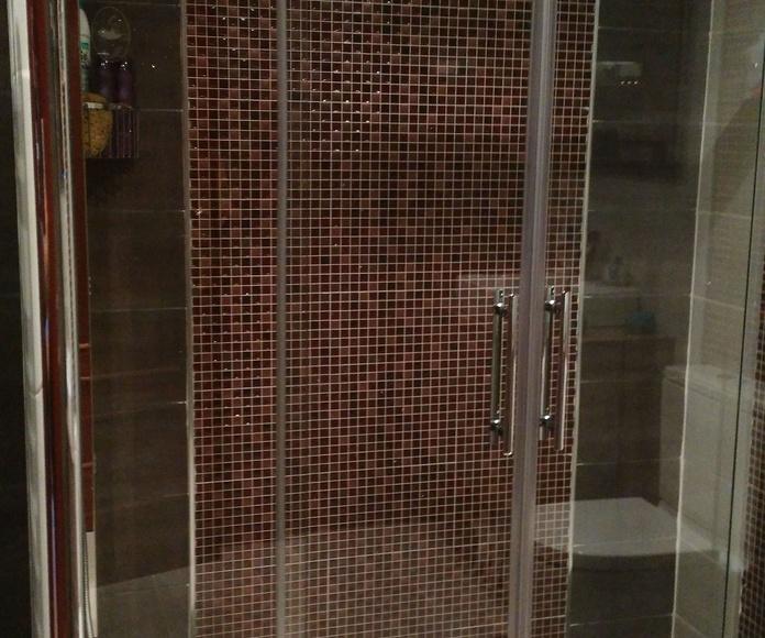 Estilo de ducha moderno