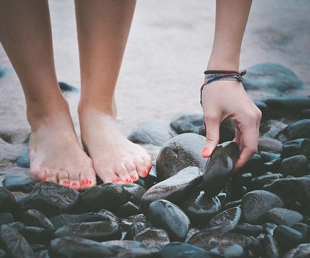 Riesgos para los pies en verano