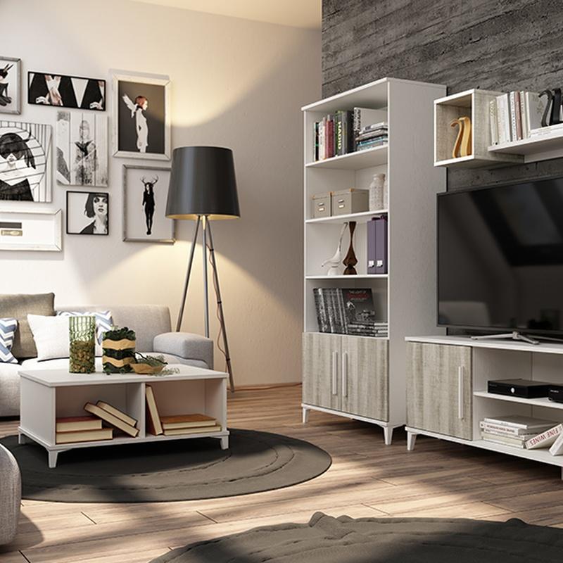 Muebles apilábles con variedad de acabados y medidas a precios irresistibles.