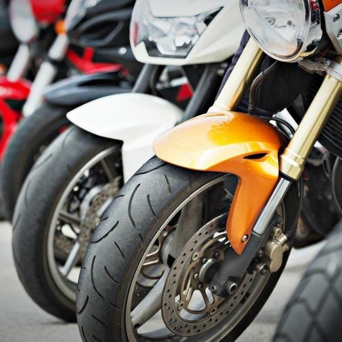 Características de los neumáticos para motos