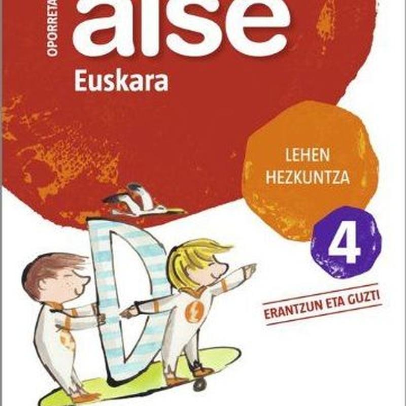 Cuaderno vacaciones Aise 4 oporretan euskara 9788498940718 ZUBIA SANTILLANA