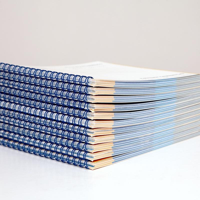 Encuadernación: Catálogo de EUSKOLOR