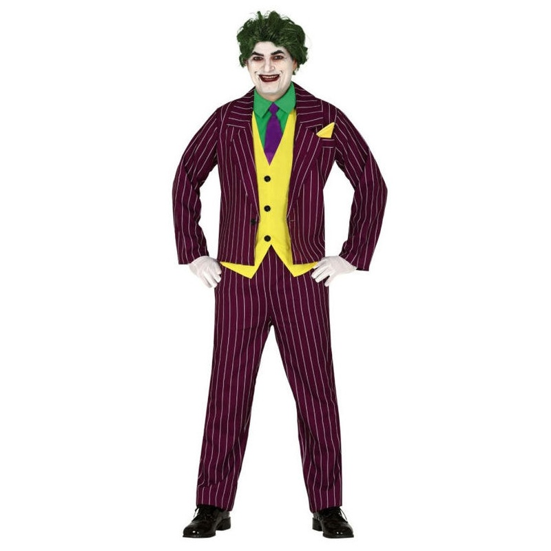 Disfraz joker hombre