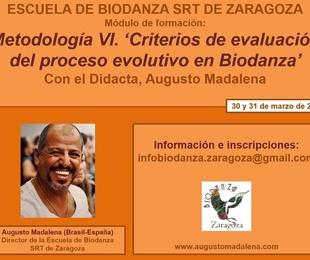 Metodología VI. Criterios de Evaluación del Proceso Evolutivo en Biodanza