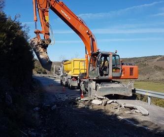 Derribos y demoliciones: Servicios de Excavaciones José Mª González