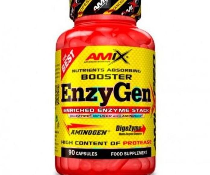 Amix® EnzyGEN es un complemento alimenticio en cápsulas especialmente desarrollado para apoyar y ayudar en las funciones digestivas.
