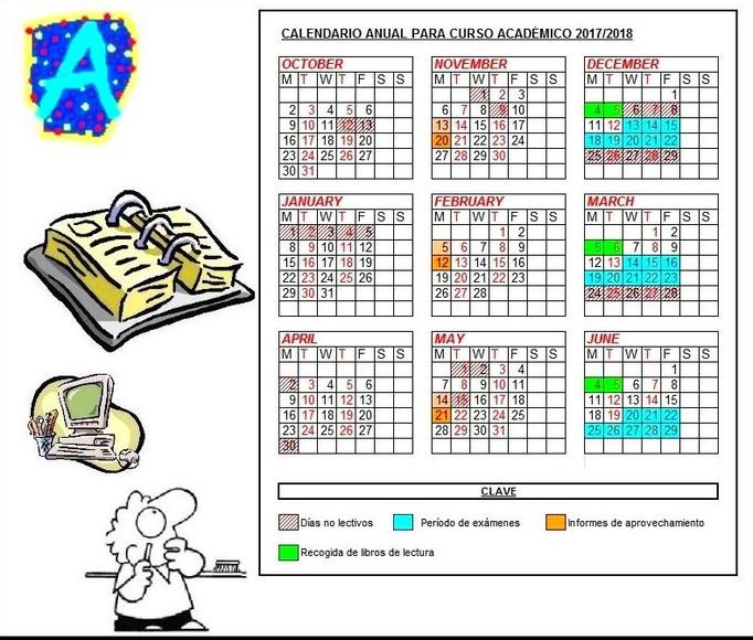 Calendario del Curso