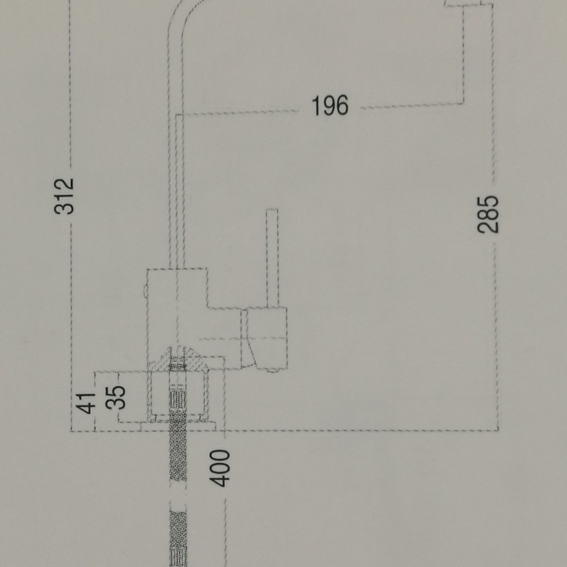 Grifo monomando fregadero lineas rectas: Catálogo de apluscocinas