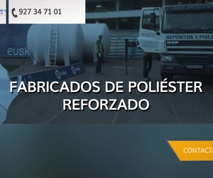 Piscinas de poliéster en Badajoz: Poliéster Luís Pino
