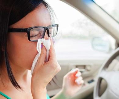 Alergias: cuidado al volante