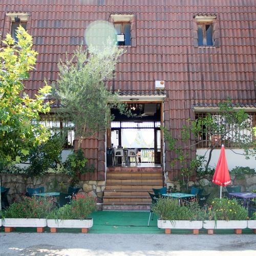 Exterior del Restaurante El Mirador de Pelayos