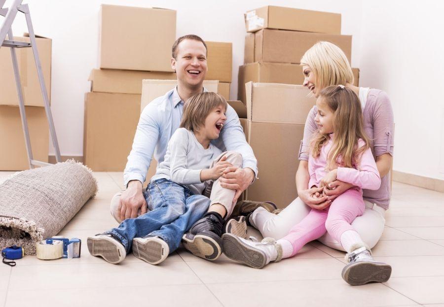 Cómo actuar con los niños ante una mudanza