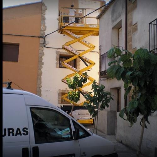 Pintar fachadas en Zaragoza