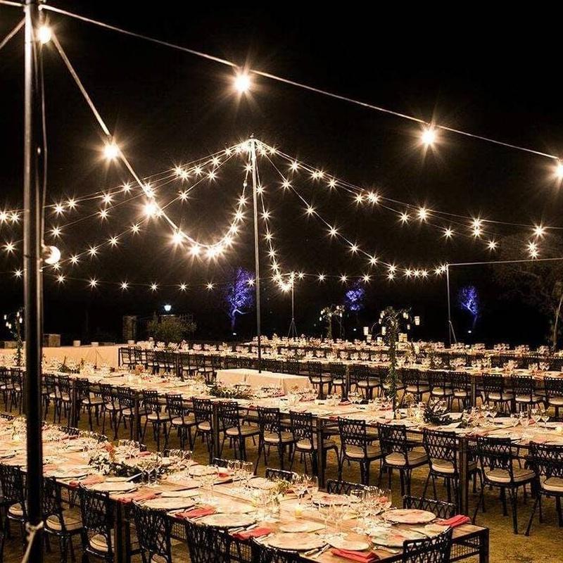 guirnalda bombillas: Nuestros servicios de Jukeval Eventos