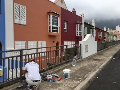 Iniciamos trabajos de pintura en La Orotava