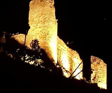 Trabajos realizados en el Castillo de Gestalgar