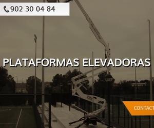 Plataformas elevadoras sobre camión Reus