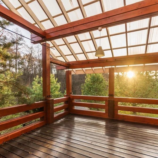 Motivos por los que querrás tener un porche de madera