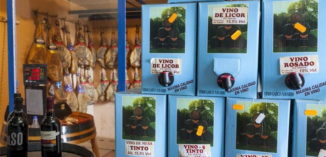 Venta de vinos y toneles en Granada