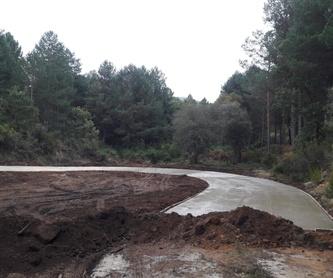 Trabajos en madera: Servicios de Excavaciones DGP
