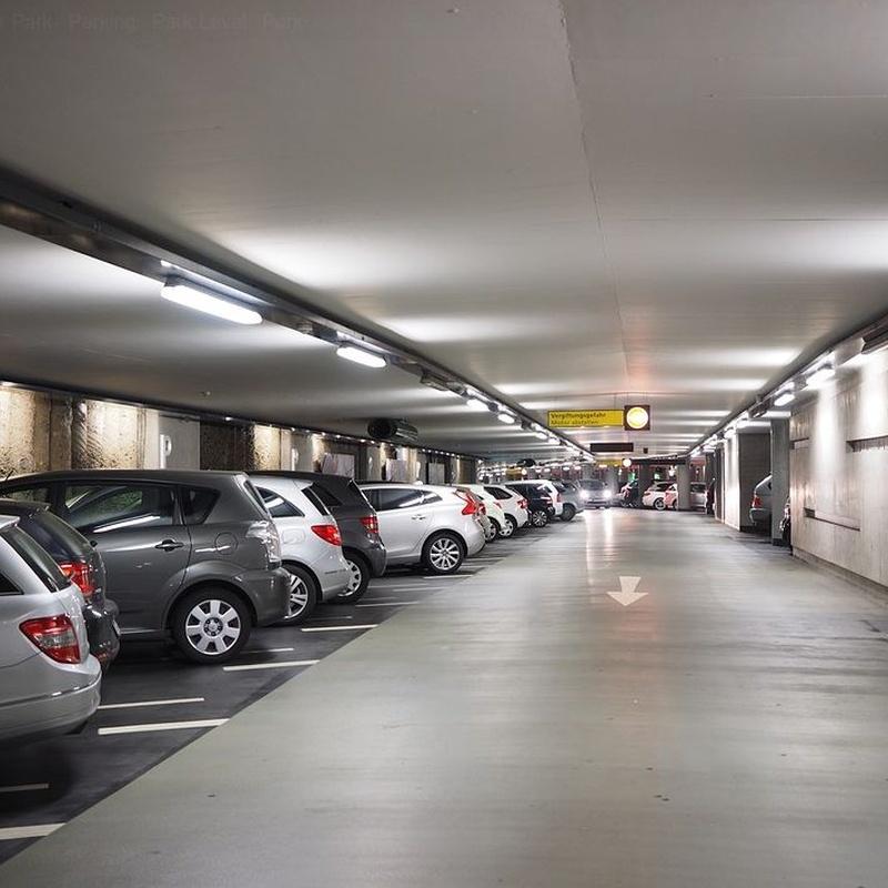 Limpiezas de parking: Servicios de Limpiezas Pina