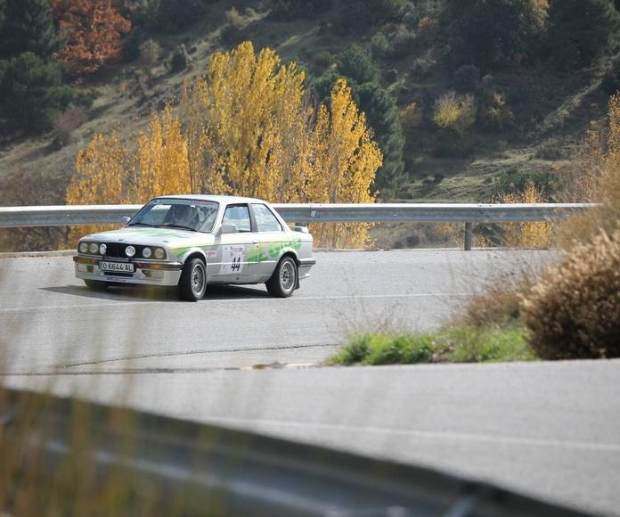 Granada el  XXII  Rallye Primeras Nieves,