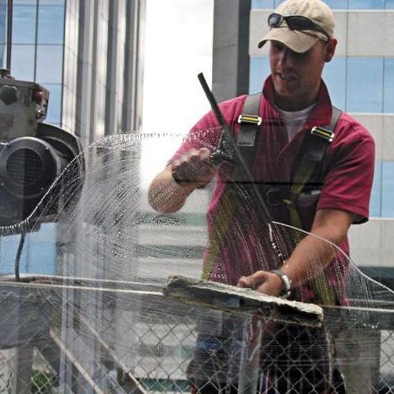 Limpieza de cristales: Servicios de Limpiezas Pina