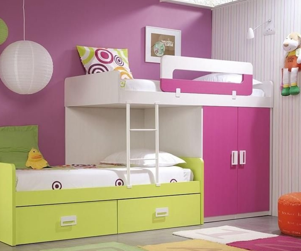 Literas, la opción más divertida para dormitorios infantiles