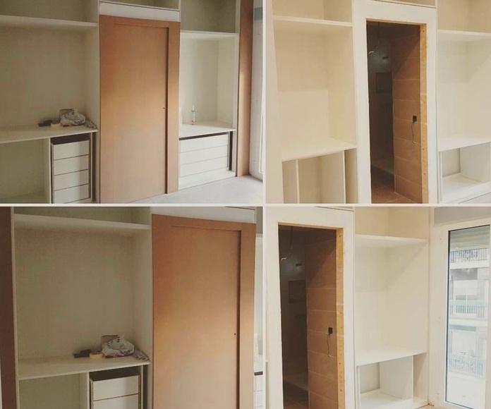 Montaje parte interior armario