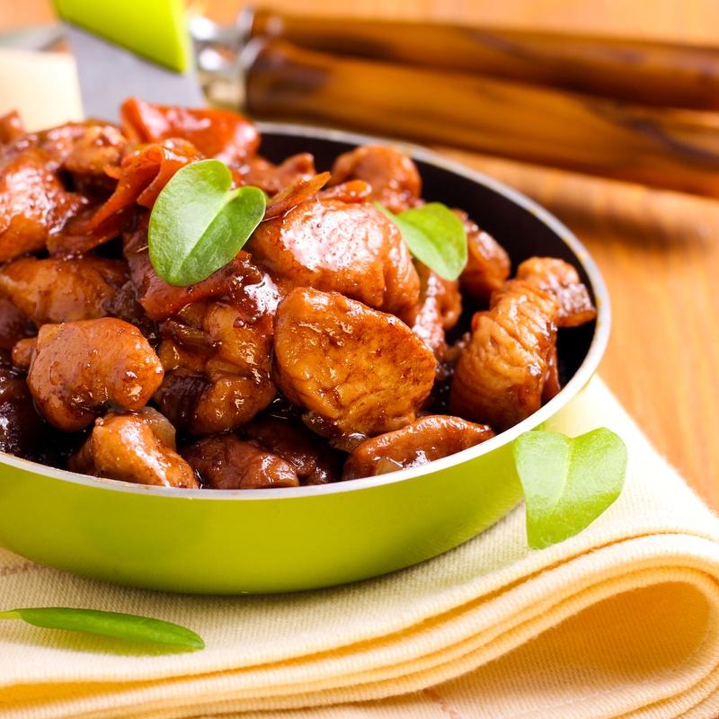 90.Pollo con salsa de la casa: Carta y menús de Yoshino