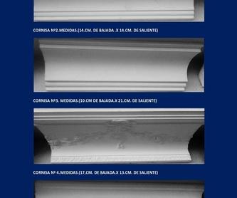 Plafones y bovedas: Catálogo de I. De Escayolas Palomares