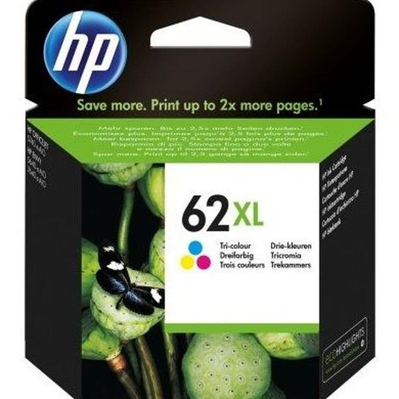 HP 62XL Cartucho Tricolor C2P07AE Officejet 5740: Productos y Servicios de Stylepc