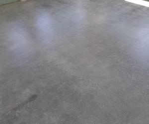 Pavimento cemento acabado satinado