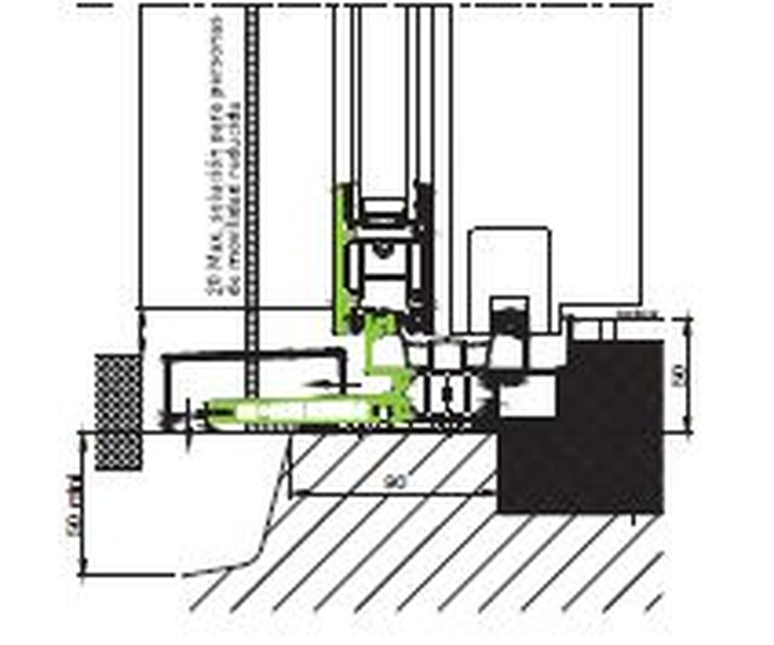 Corredera K-Line KLBC 2 raíles: Productos de Catal Pur