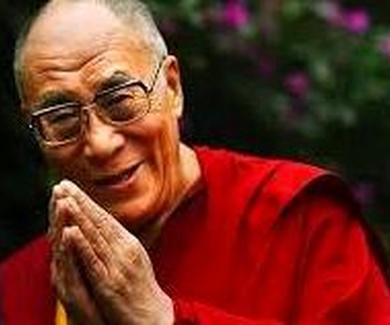 Frase sabia del Dalai Lama.