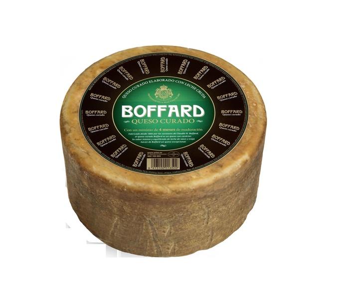 Queso de  Curado Pieza de 3 Kgs. Marca Boffard